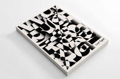 book, type, black, white, dimension