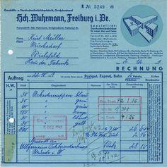 Erbar-Grotesk, Erbar, Jochheim Deutsch, Invoice, Typography, receipt