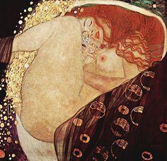 Gustav Klimt,Danae #danae #art #klimt