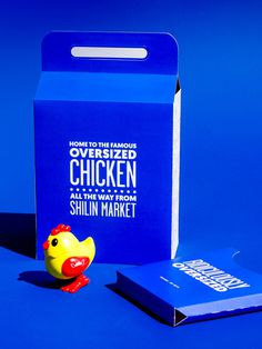 Hot Star Chicken Packaging Design by Studio Marché //