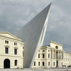Dresden Museum of Military History by Daniel Libeskind #reuse #adaptive