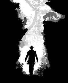 Indiana Jones by batfish73 #illustration