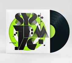 DJ Jay Kay - Album Art on the Behance Network #vinyl #album #typography