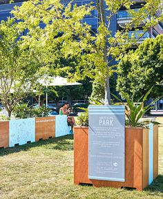 Temporary Park on Sydney's Waterfront by ASPECT Studios - #park, #outdoor, #architecture, #landscaping,