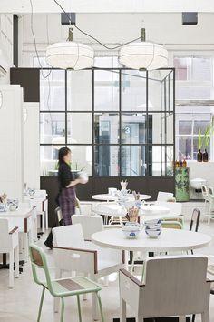 David's Restaurant Thisispaper Magazine #spaces