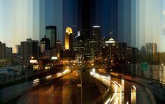 City scape photography