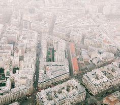 Paris Aerial Photography by Johannes Heuckeroth