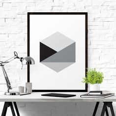 Geometric Print designed by iloveprintable.com
