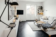 Minimal living room #interior #scandinavian #minimal #living