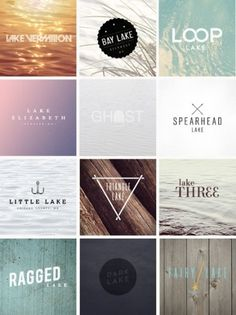 http://pinterest.com/pin/34199278390084031/ #lake #logo #photography #american