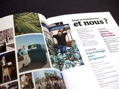 Tout se transforme, et nous ? Eco-Emballages - Rapport Annuel 2012 #dataviz #visu #visualisation #design #graphic #altran #direction #data #art #editorial