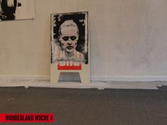 streetart @ Wunderland | Raum + Zeitgeist | Woche 4 #stencil #phillip #stahl #wunderland
