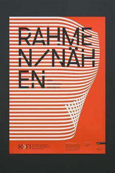 Poster für das erste Jahresthema der Operativen Ontologien, für das IKKM Weimar. by Codeluxe/CDLX #poster #graphic #lines #cdlx