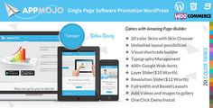 App Mojo - Mobile App Landing Page WordPress Theme