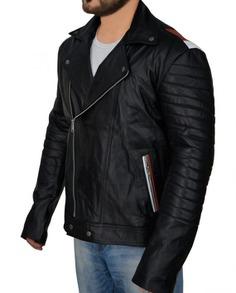 Ryan Gosling Blue Valentine Motorcycle Leather Jacket (4) F-L-C
