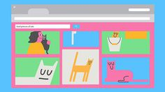 Animation: Super fun animation created to teach children about the perils of the internet #catz