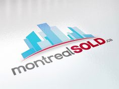 Montreal Sold | WAHBA MEDIA | Graphic Design | Web Development | Branding #logo #estate #real