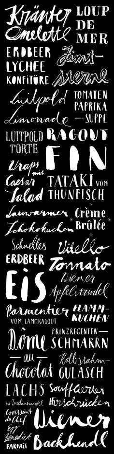 recipe handlettering #lettering #handlettering #fischer #blackboard #recipe #food #maria #hand #typography