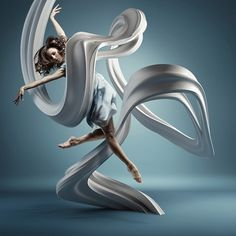 MOTION IN AIR on the Behance Network #dital #art