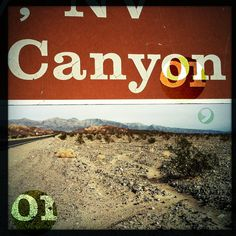 canyon_montage.png (c)virginibedard.com #road #trip #digital #nevada #vintage #art #canyon #california