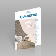 MagSpreads Editorial Design and Magazine Layout Inspiration: Quaderns Architecture magazine #print #architecture