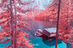 Infrared Dolomites: Dreamlike Colorful Photography by Paolo Pettigiani