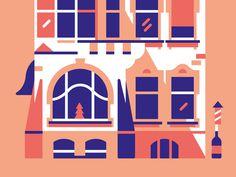 Mansion #illustration