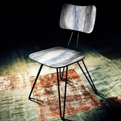 design traveller #modern #chair #wood #lighting #dark #metel