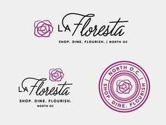 La Floresta Logo System