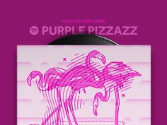 Colour and Lines Purple Pizzazz Mixtape