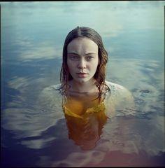 Katarina Smuraga | Art Sponge #water #katarina #girl #format #photography #portrait #square #smuraga