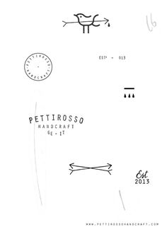 Pettirosso Handcraft #branding #handcraft #design #graphic #direction #art #pettirosso