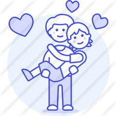 See more icon inspiration related to love and romance, homosexual, gay, couple, love and people on Flaticon.