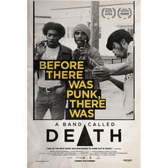 A Band Called Death Poster #poster #movie #documentary
