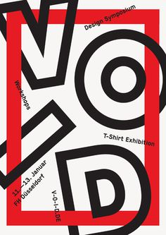 Design symposium VOID