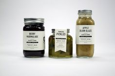 Graphic-ExchanGE - a selection of graphic projects #typography #branding #label #graphic #food #jars
