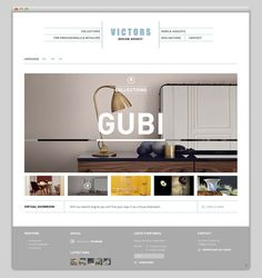 Victors #layout #website #web #web design