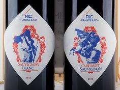 France&Co Wine packaging