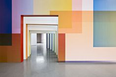 It's Nice That : Fabio Novembre's colourful design brings Italian graphics show to life #exhibition #fabio #novembre