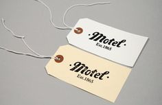 FFFFOUND! #motel #studio #branding