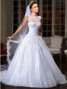 Wedding dresses for lovely bride