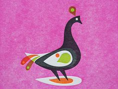 www.typetoy.tumblr.com #letterpress #deboss #peacock #impression #overlay