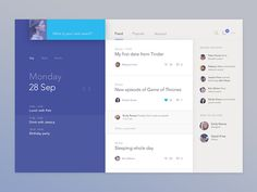 calendar #app #ui