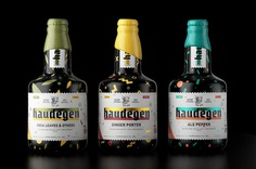 Designer Constantin Bolimond created the playful brand identity and packaging design for Haudegen Beer. For more of the most beautiful designs visit mindsparklemag.com