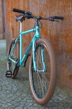 Bianch MTB Umbau #bike #bicycle #brooks #rap #cycle #bianchi #mountainbike #6027