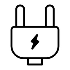 See more icon inspiration related to plug, power, electricity, energy, electrical, charging and technology on Flaticon.