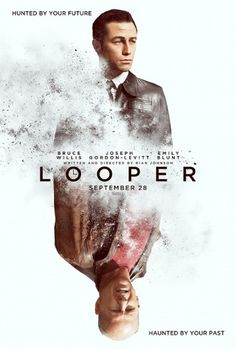 Exclusive: The Poster For Rian Johnson's 'Looper' | /Film #movie #design #graphic #poster #film