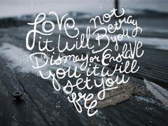 Tyler Thorney Lettering #typography #heart #lettering #tyler thorney