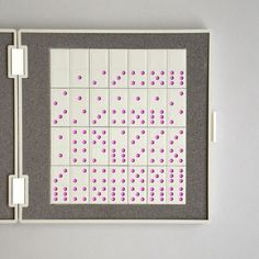 Braun domino set | Flickr - Photo Sharing! #modern #design #set #product #1960s #domino #braun