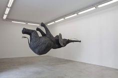 Upsidedown #upsidedown #sculpture #elephant